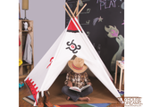 Southwest Cotton Canvas Tee Pee - Pacific Play Tent - Playhouse of Dreams  - 2
