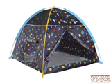 Grow in Dark Galaxy Dome Tent with Galaxy Tunnel - Pacific Play Tent - Playhouse of Dreams  - 3