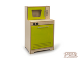 Contemporary Dishwasher /  Microwave - Playhouse of Dreams  - 1