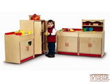 Preschool Refrigerator Cabinet - Playhouse of Dreams  - 2