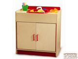 Preschool Sink Cabinet - Playhouse of Dreams  - 1
