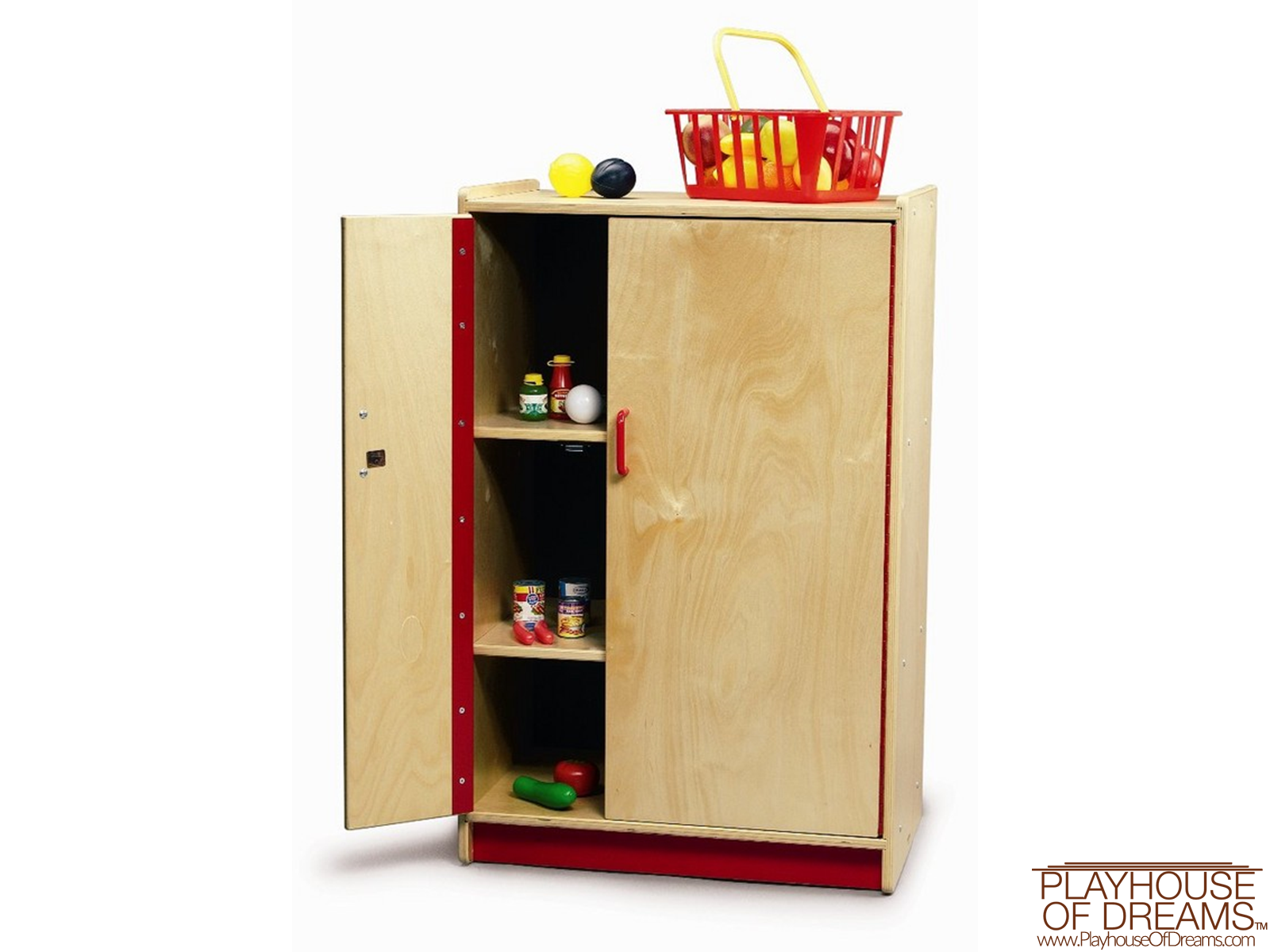 Preschool Refrigerator Cabinet - Playhouse of Dreams  - 1
