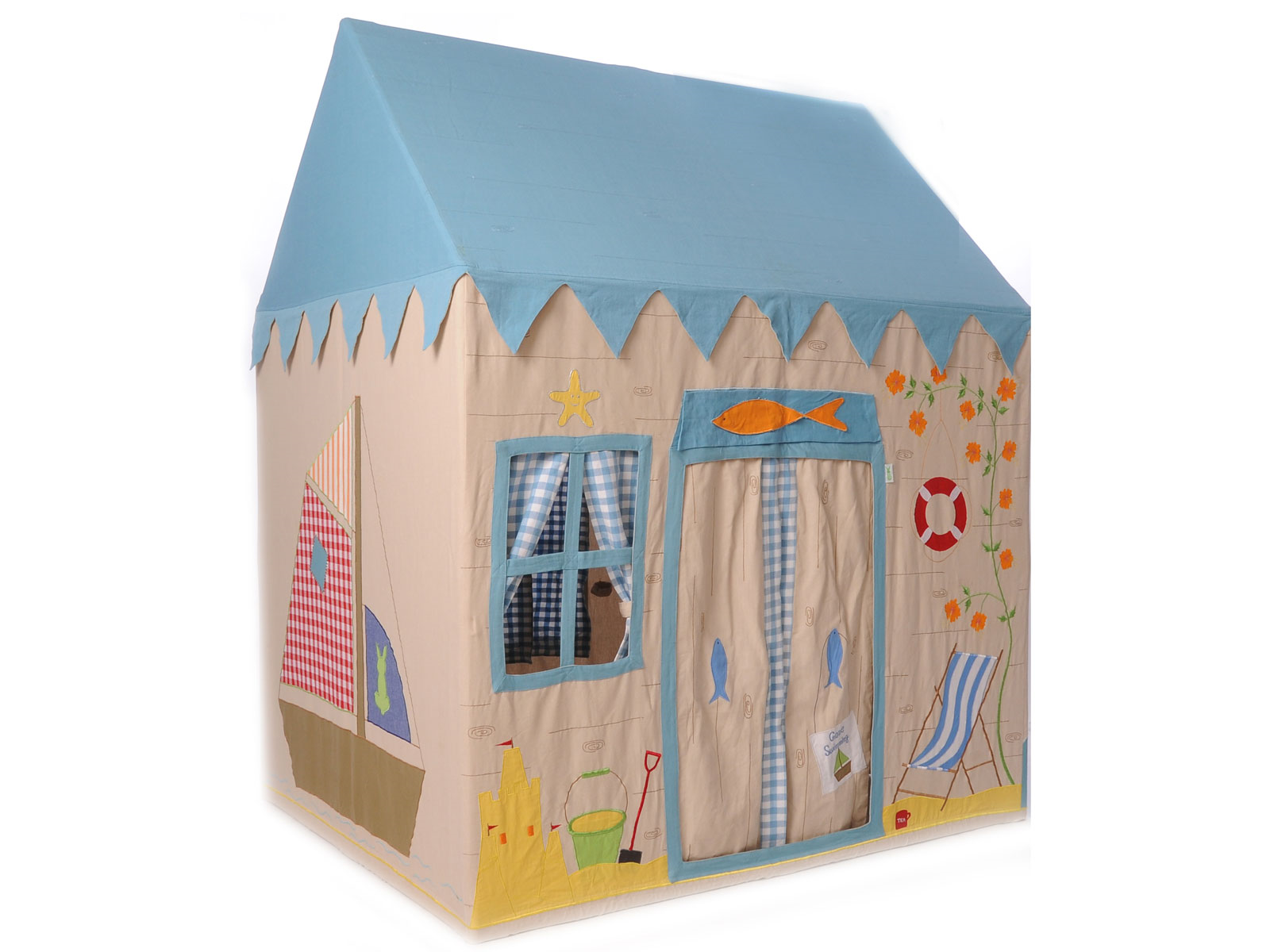 Win Green Handmade Cotton Beach House Playhouse - Playhouse of Dreams  - 1