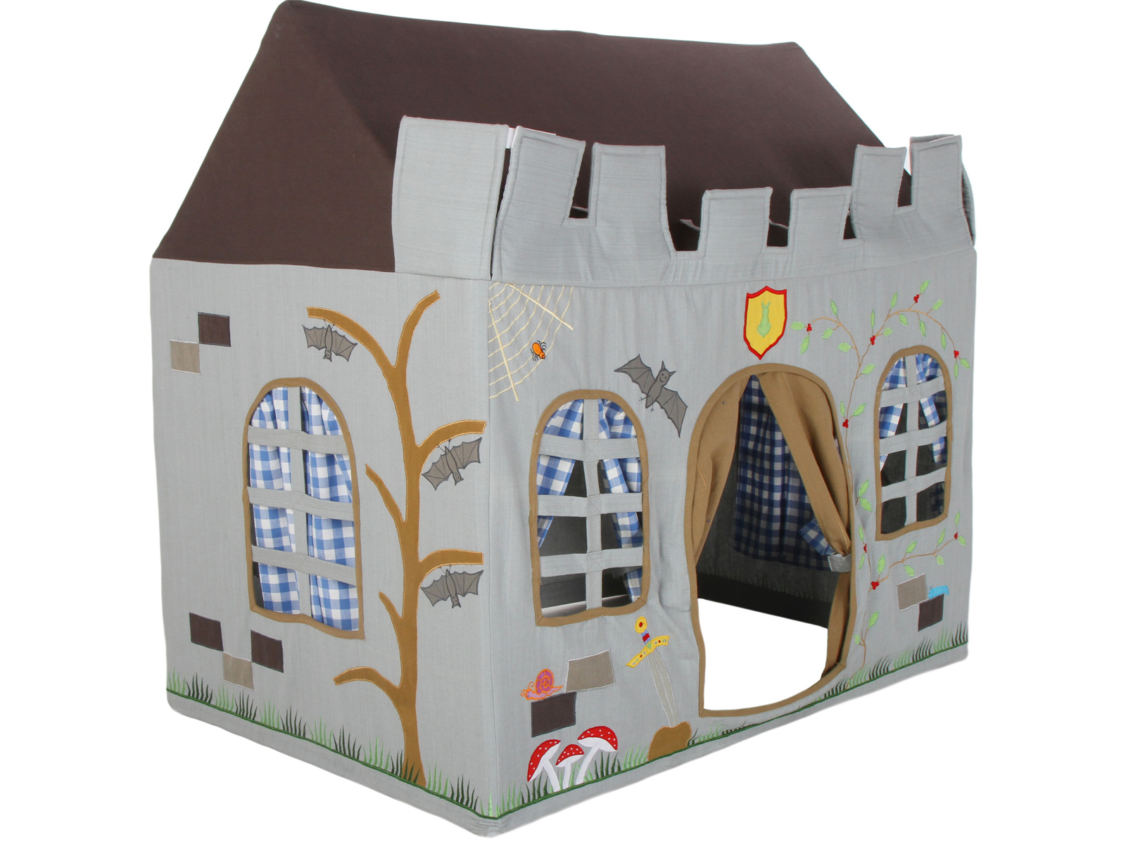 Win Green Handmade Cotton Knight's Castle Playhouse - Playhouse of Dreams  - 1