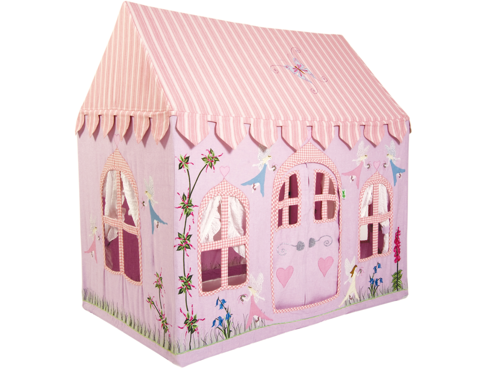 Win Green Handmade Cotton Fairy Cottage Playhouse - Playhouse of Dreams  - 1