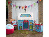 Win Green Handmade Cotton Garage Cottage Playhouse - Playhouse of Dreams  - 2