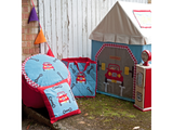 Win Green Handmade Cotton Garage Cottage Playhouse - Playhouse of Dreams  - 5