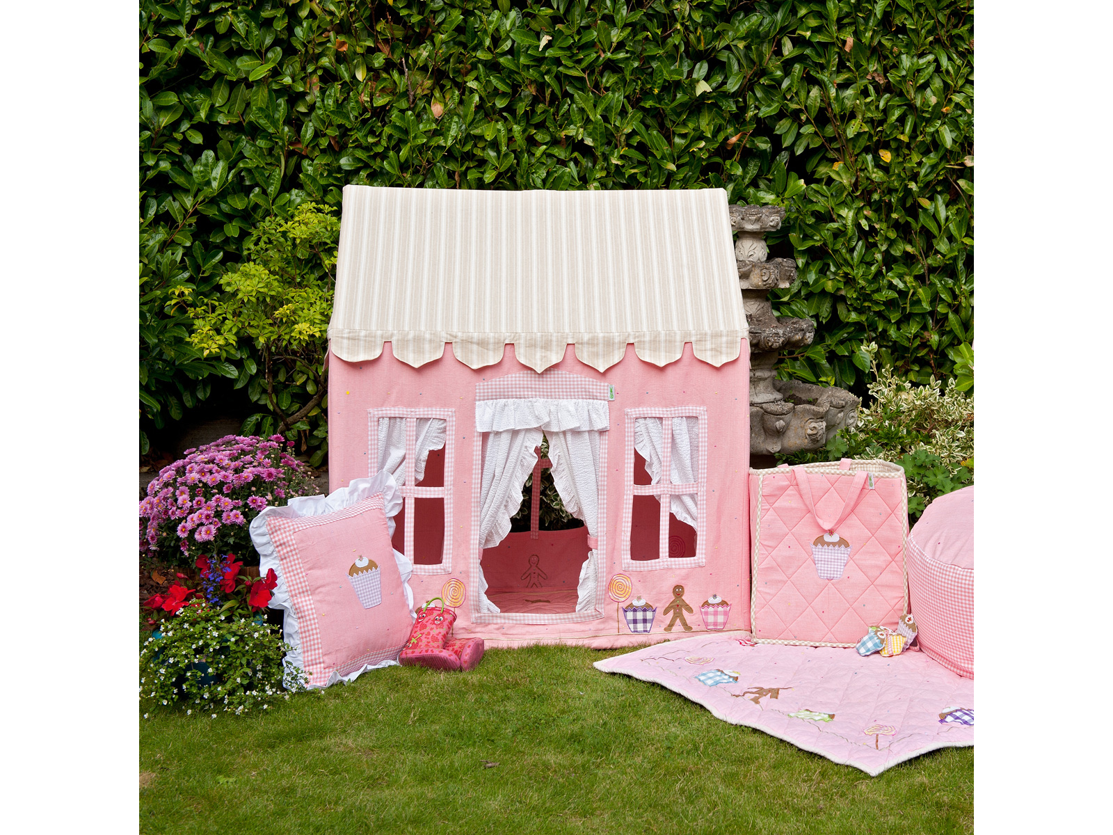 win green handmade cotton butterfly cottage playhouse buy online