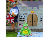 Win Green Handmade Cotton Knight's Castle Playhouse - Playhouse of Dreams  - 6