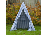 Win Green Handmade Cotton Multi-Stripe Wigwam Playhouse - Playhouse of Dreams  - 11