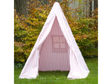 Win Green Handmade Cotton Multi-Stripe Wigwam Playhouse - Playhouse of Dreams  - 12