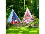 Win Green Handmade Cotton Multi-Stripe Wigwam Playhouse - Playhouse of Dreams  - 13
