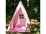 Win Green Handmade Cotton Multi-Stripe Wigwam Playhouse - Playhouse of Dreams  - 14
