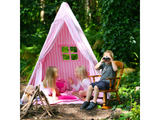 Win Green Handmade Cotton Multi-Stripe Wigwam Playhouse - Playhouse of Dreams  - 15