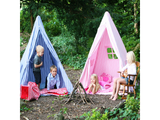 Win Green Handmade Cotton Multi-Stripe Wigwam Playhouse - Playhouse of Dreams  - 8