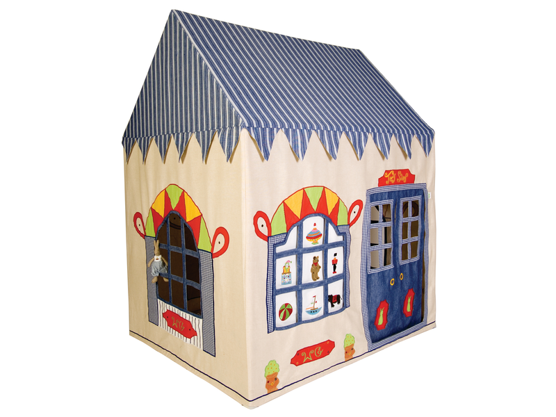 Win Green Handmade Cotton Toy Shop Playhouse - Playhouse of Dreams  - 1