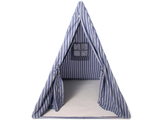 Win Green Handmade Cotton Multi-Stripe Wigwam Playhouse - Playhouse of Dreams  - 1