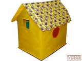Bazoongi Kid's Cottages Going Bananas Monkey - Playhouse of Dreams  - 3