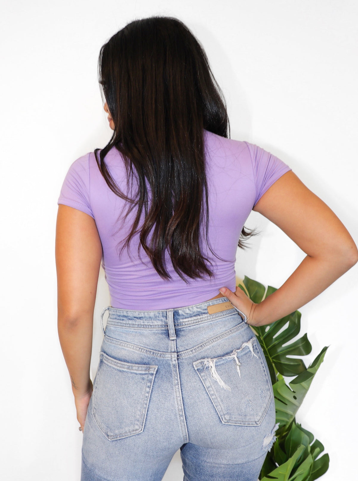 Laura's Fav  Short Sleeve (Lavender)