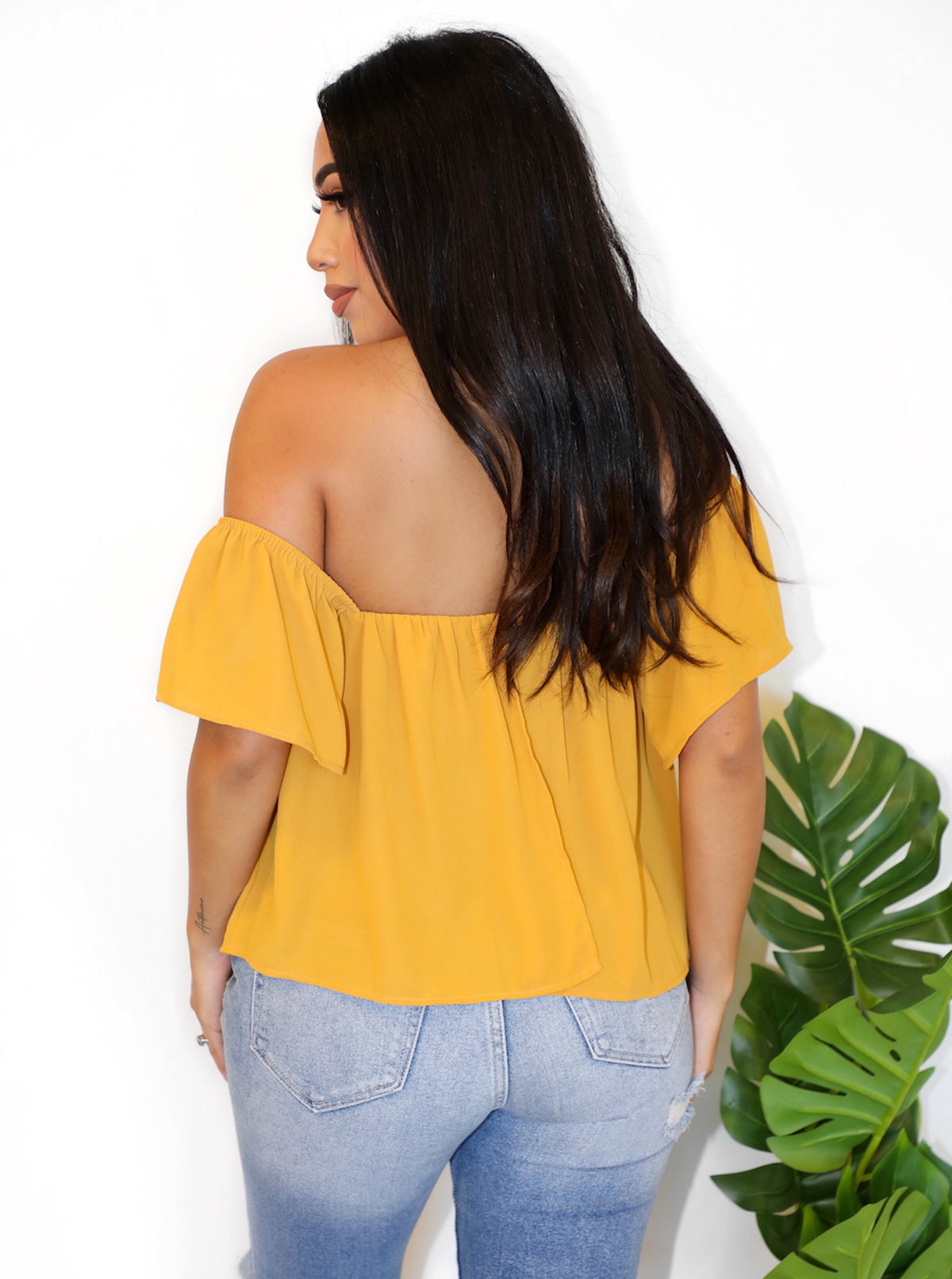 Sadie Top (Mustard)