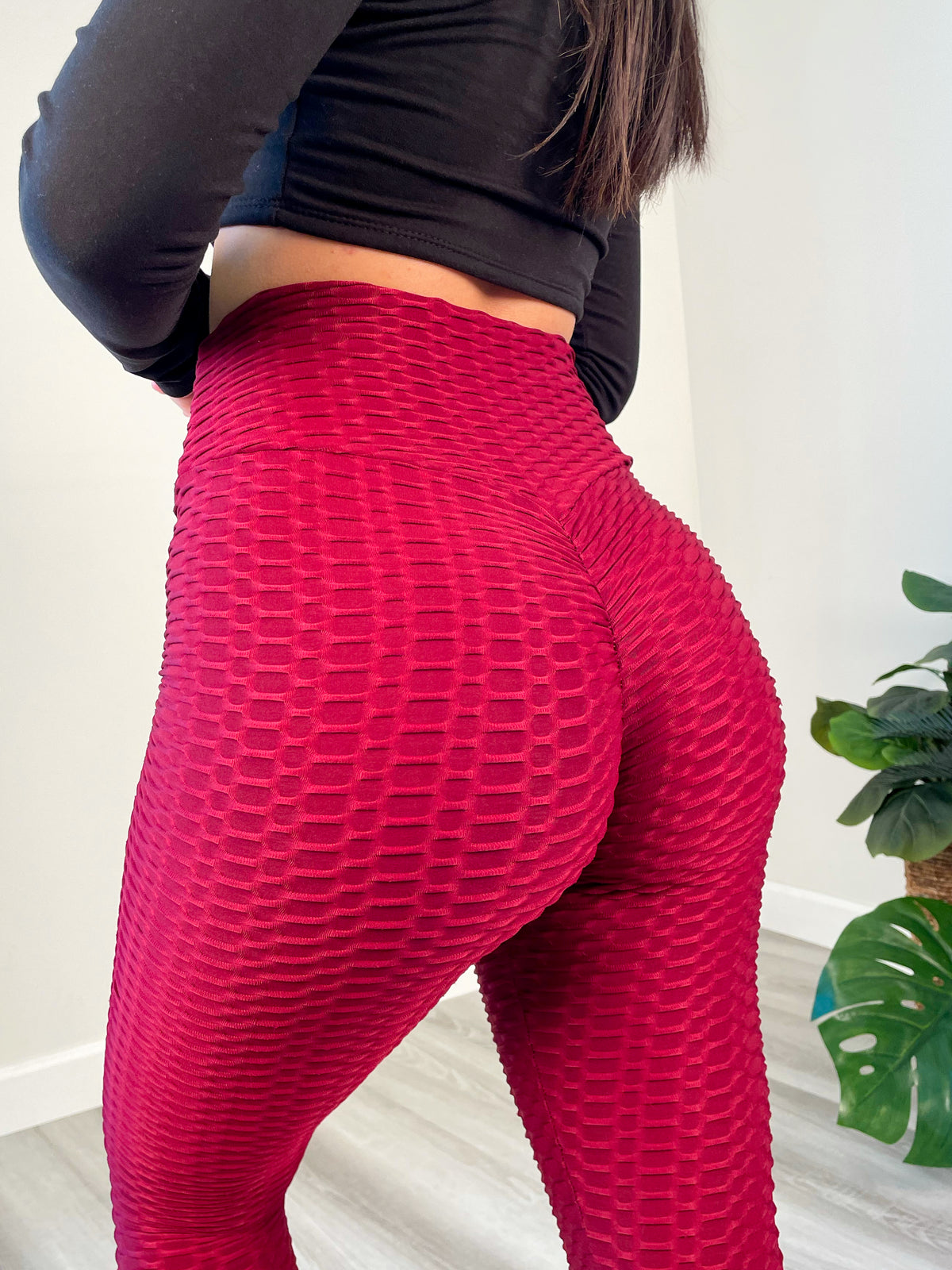 Kenny Leggings (Burgundy)