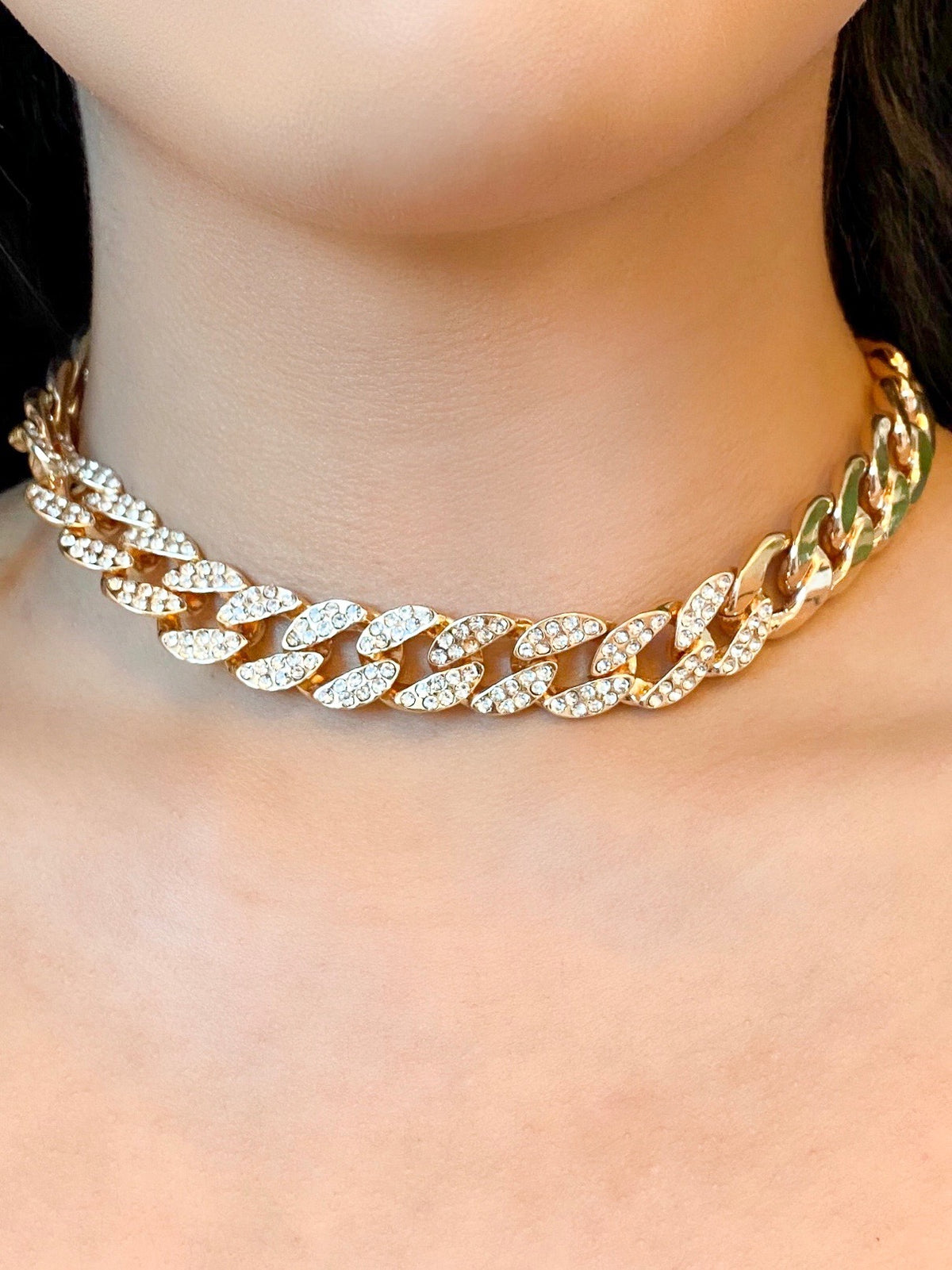 Kelly Chain Necklace Gold Laura S Boutique Inc