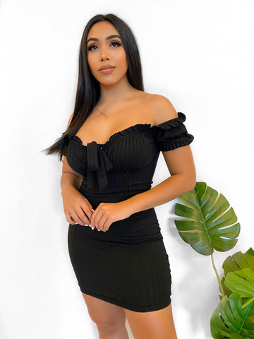 Alondra Dress (Black)