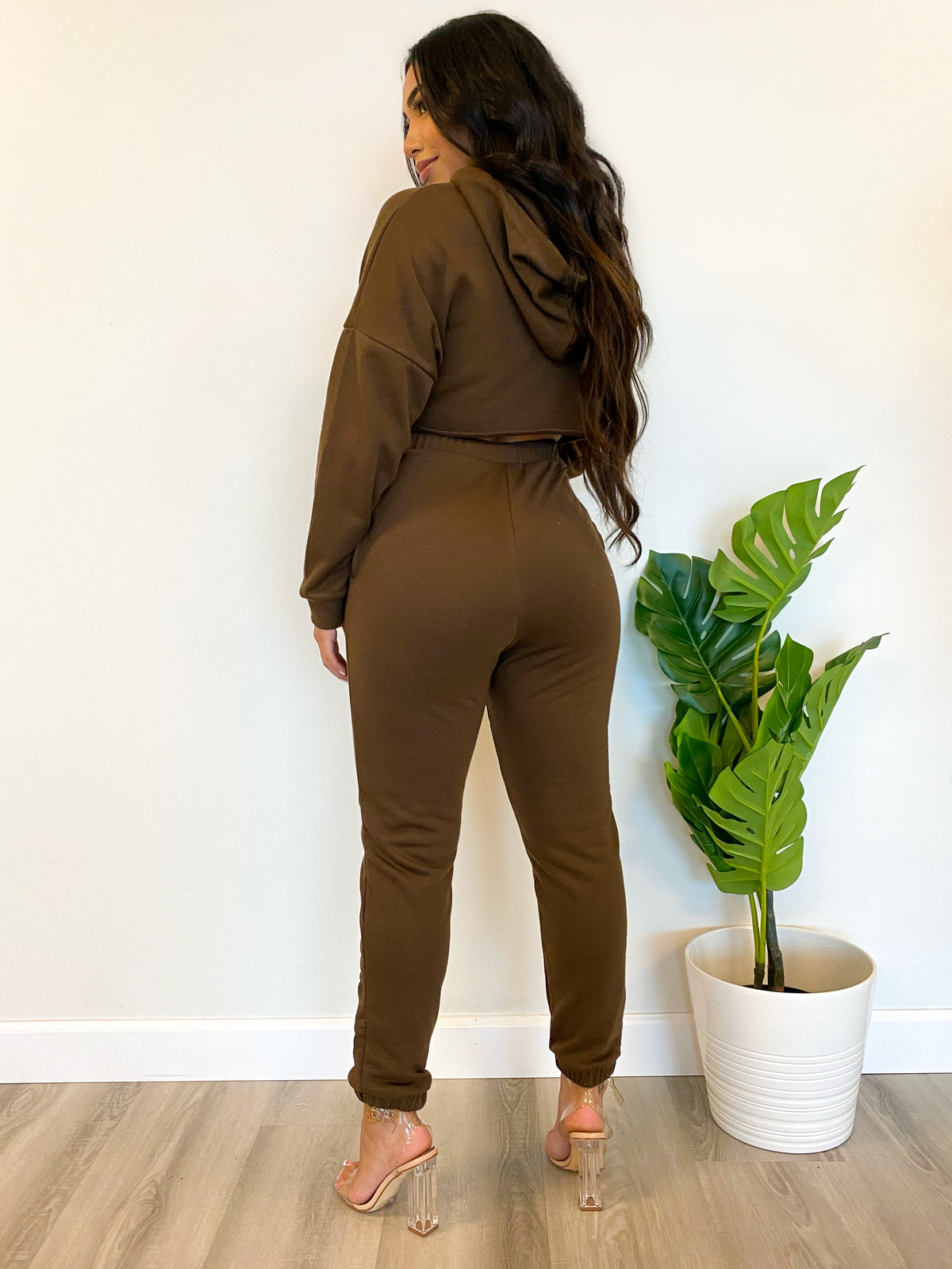Sabrina 2 piece (Brown)