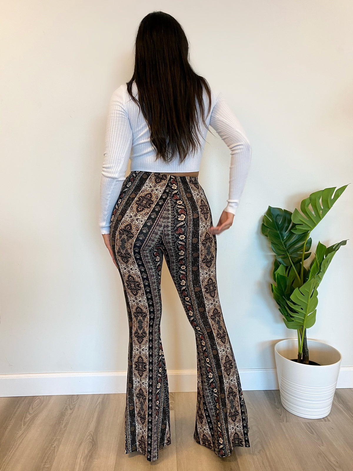Logan Bell Bottoms (Black)