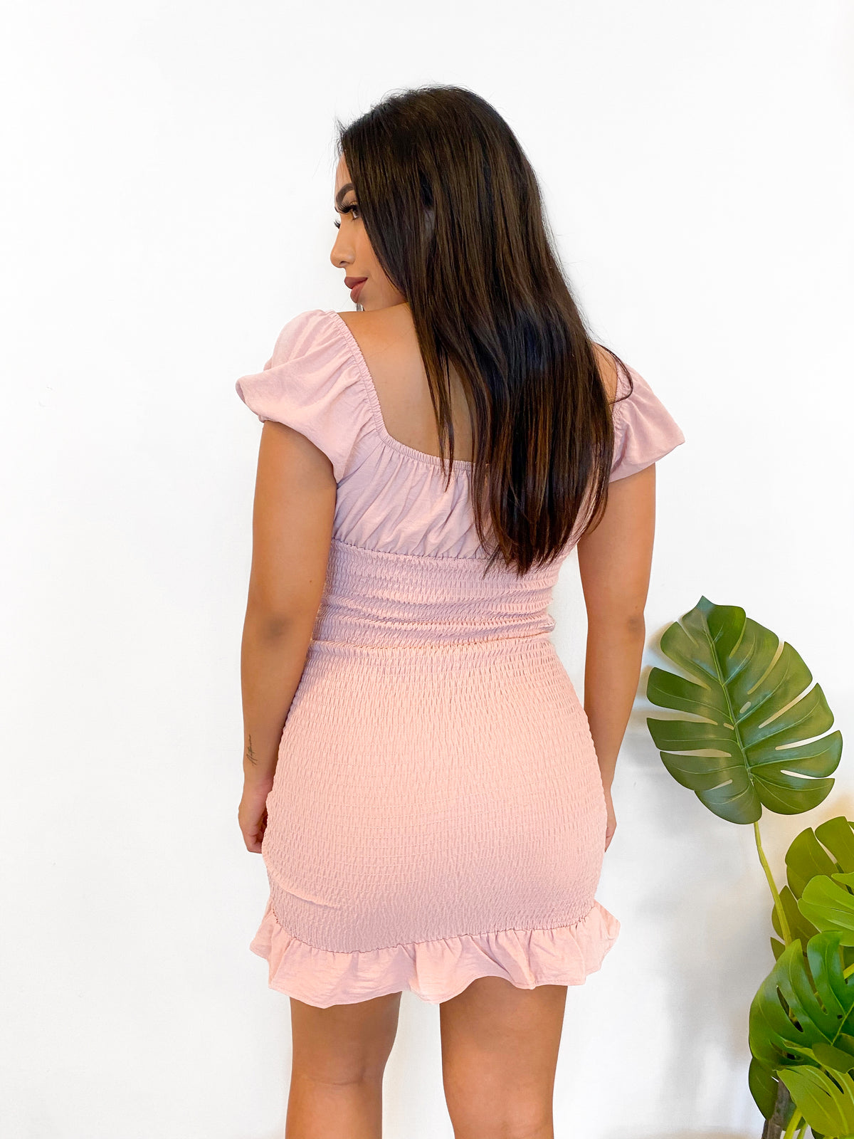 Kiara Dress (Blush)
