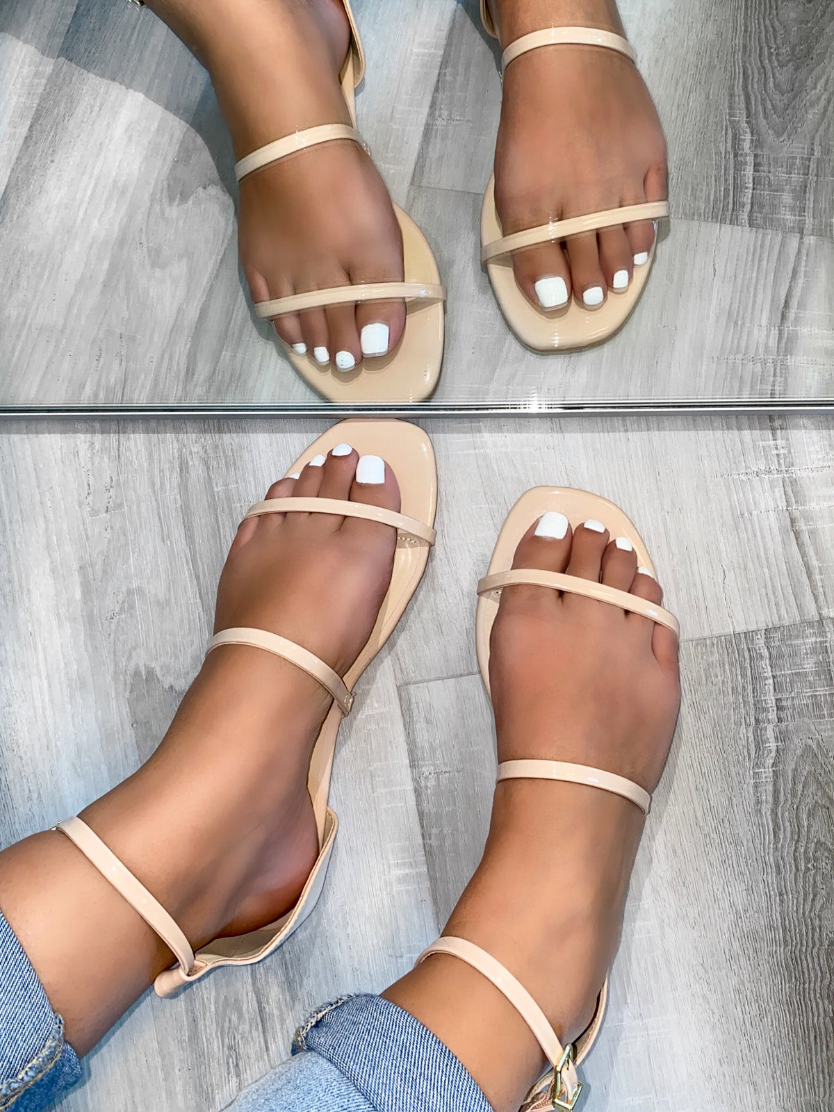 Yanely Sandals  (Nude)