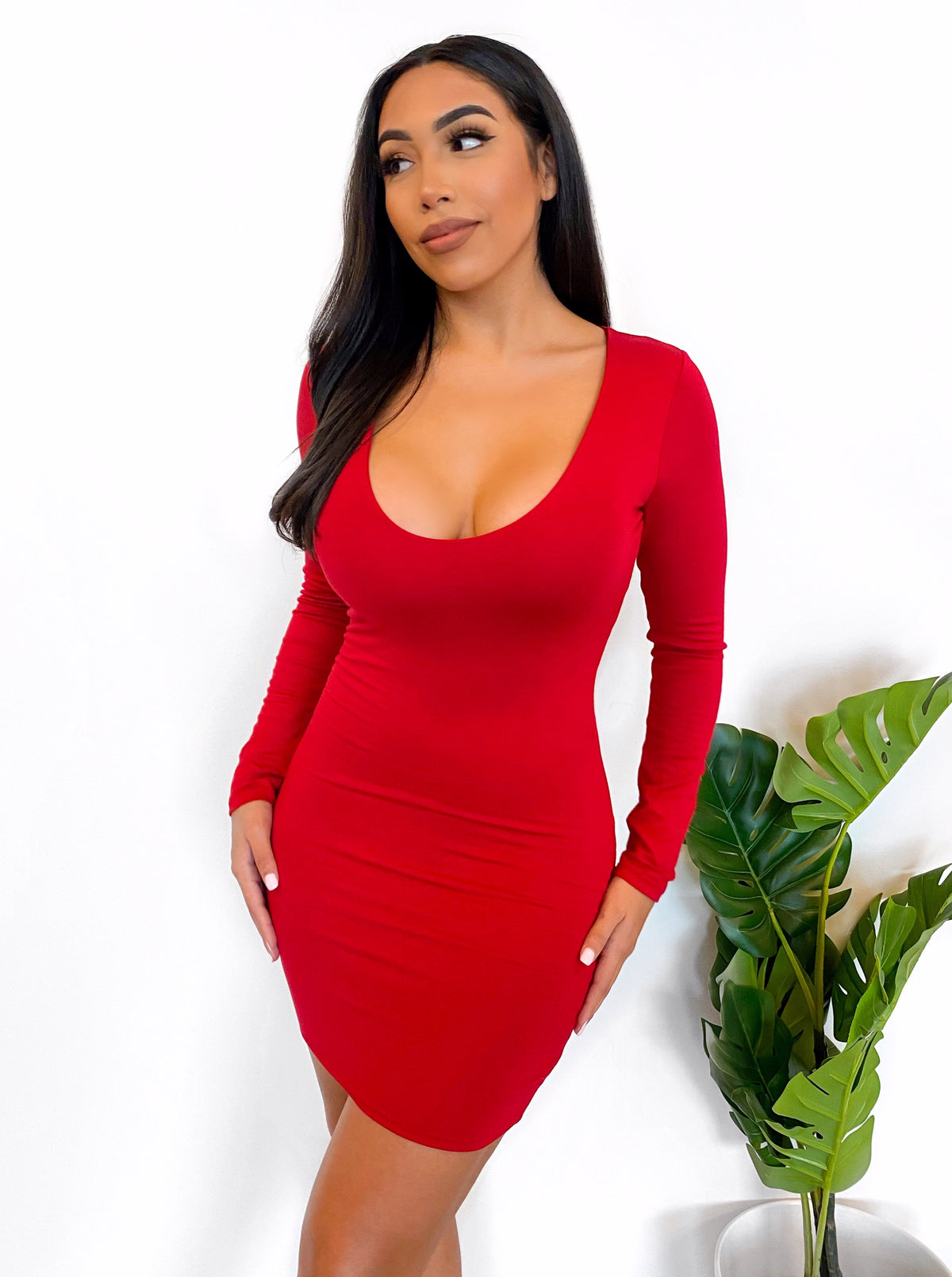Christal Dress (Red)