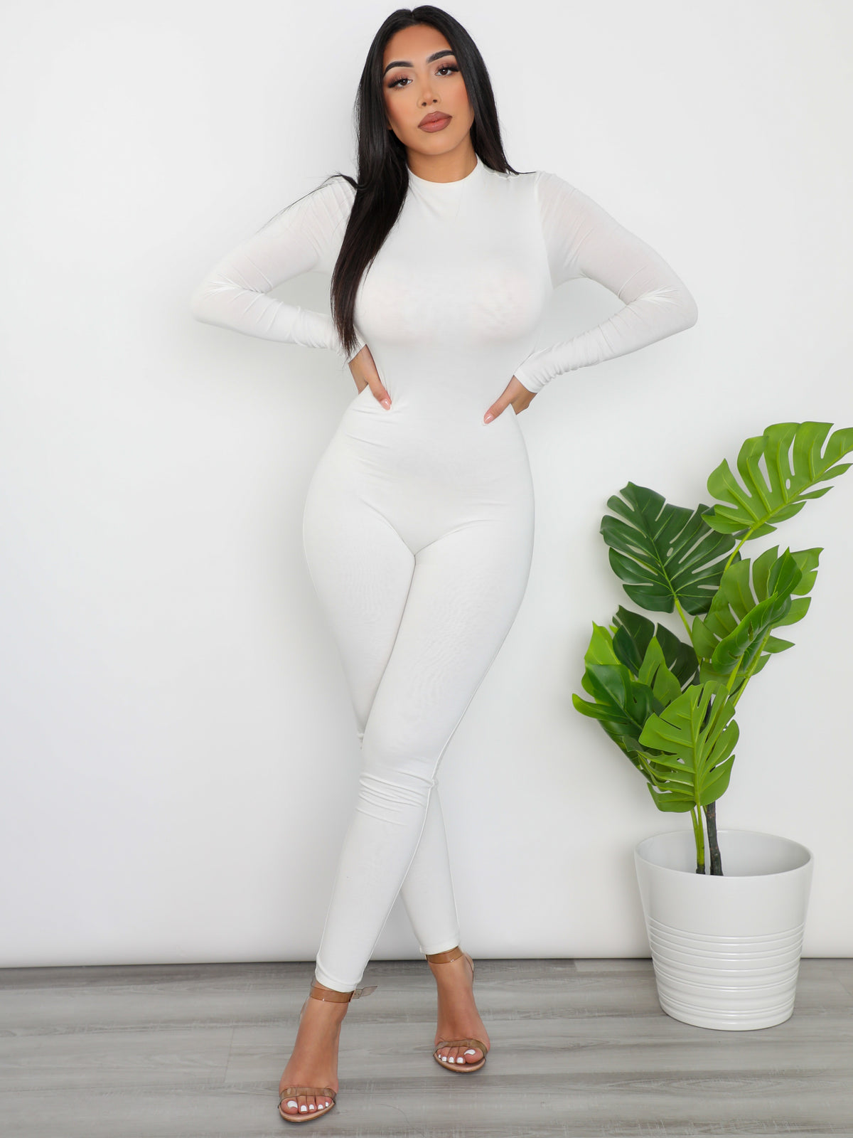 Callie Jumpsuit (Off White)