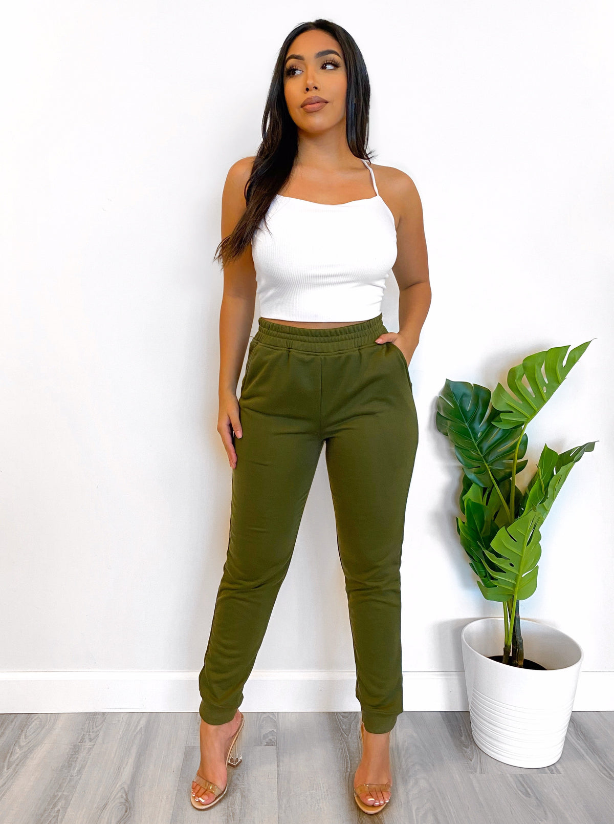 Ellie Joggers (Olive)