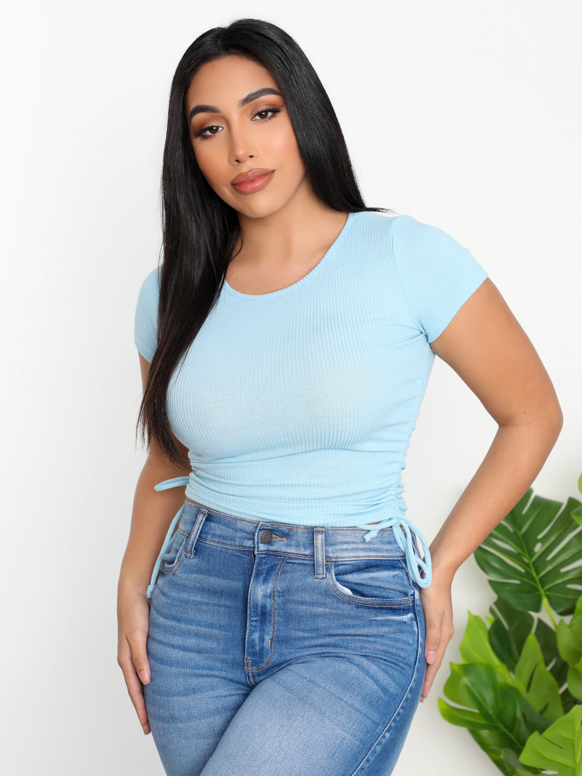 Abigail Top (Blue)