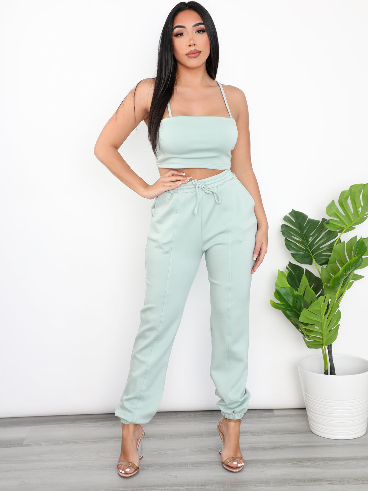 Gabriella 2 Piece (Mint)
