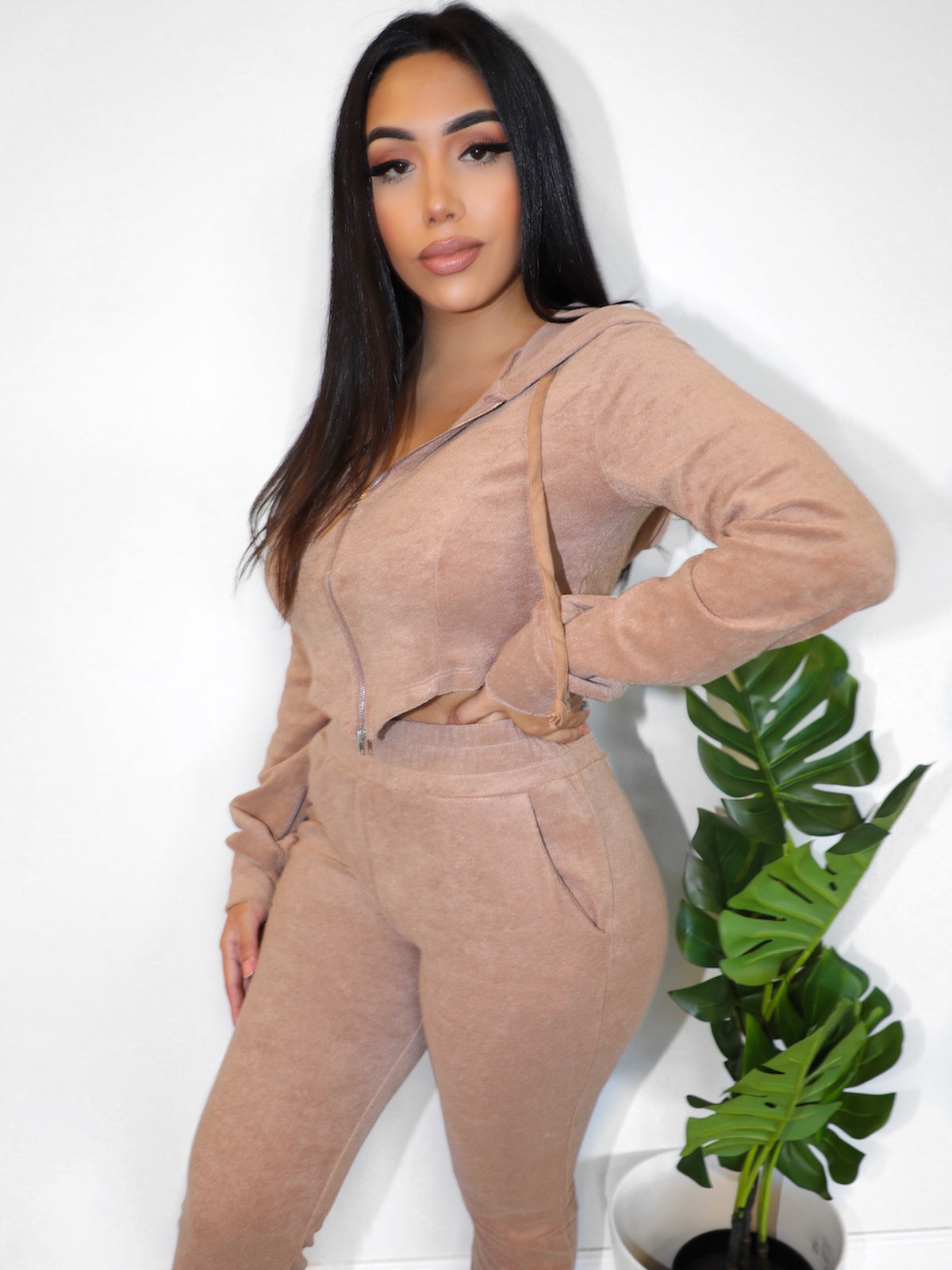 Brittany 2 piece (Taupe)