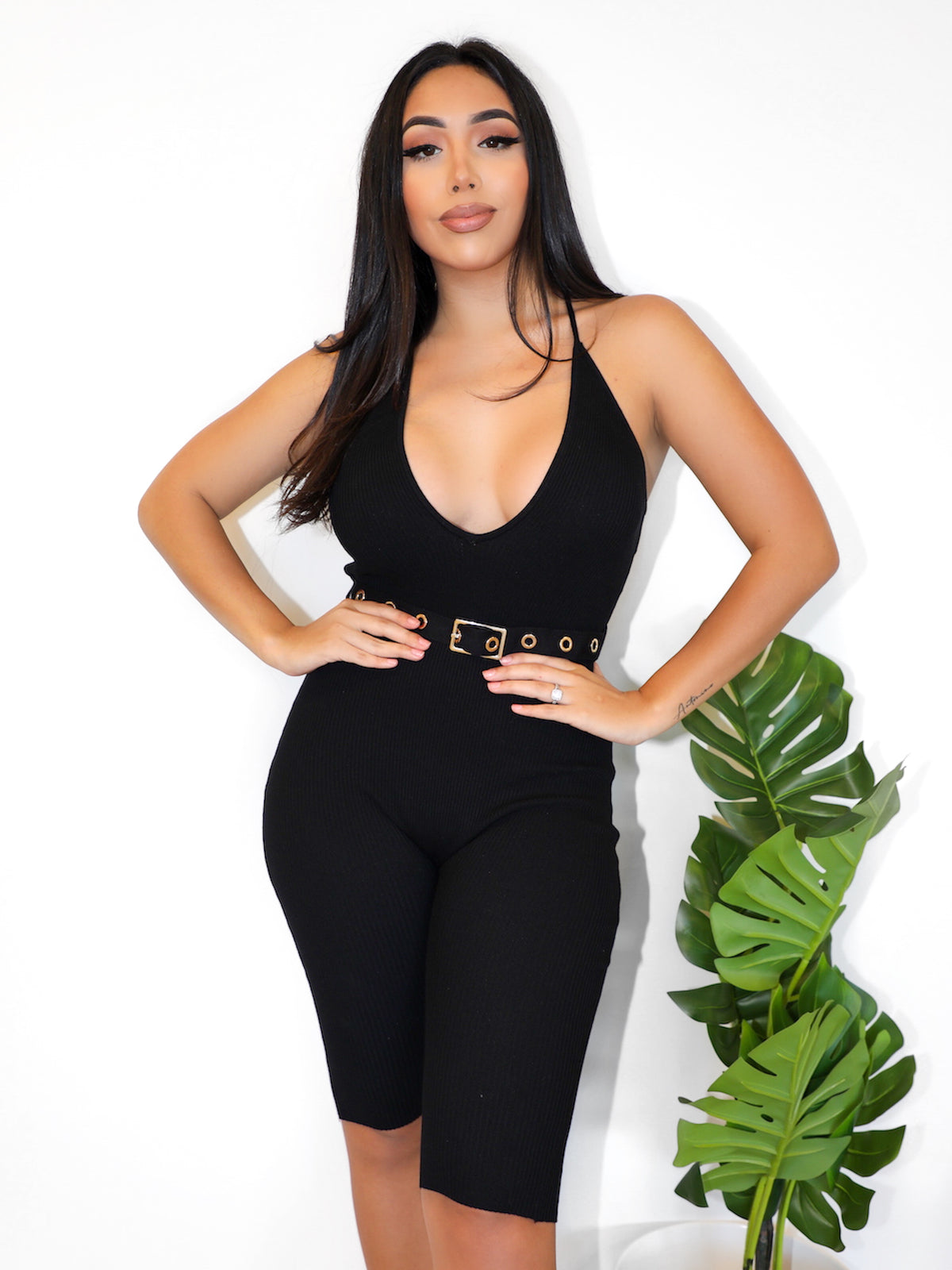 Zoraya Jumpsuit (Black)