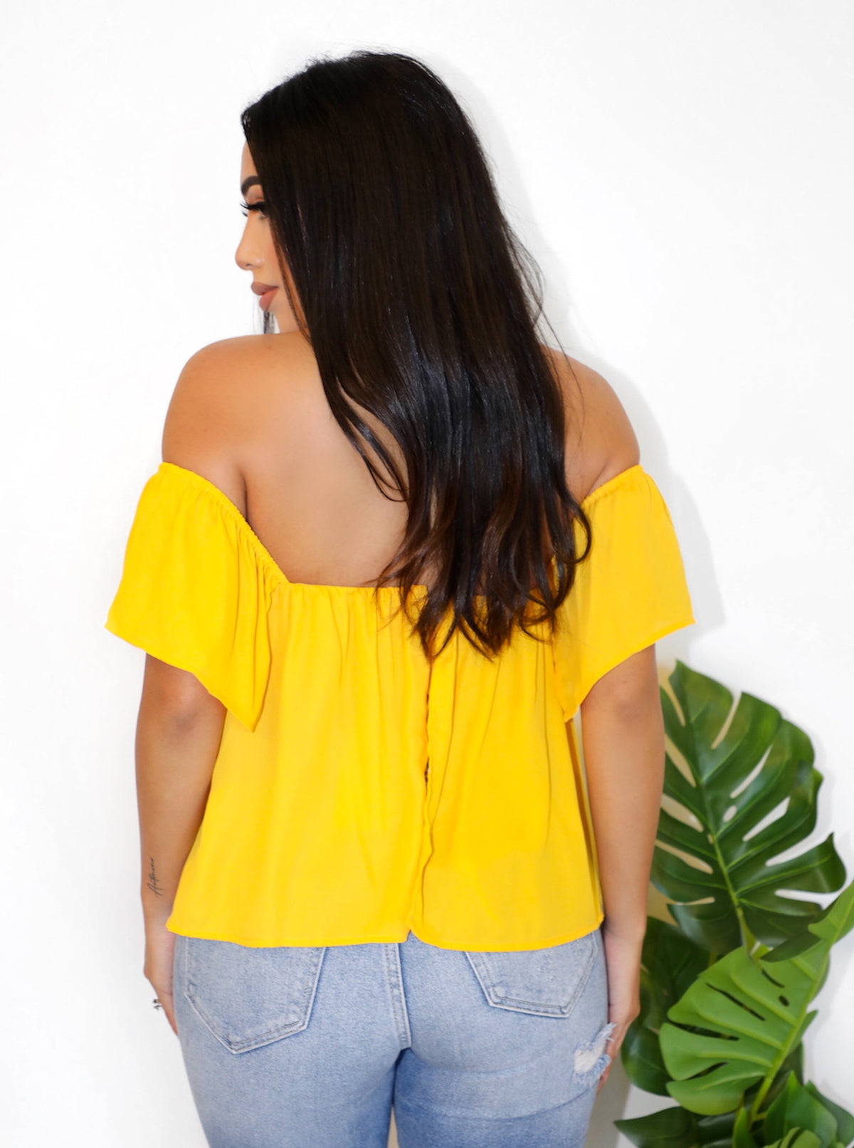 Sadie Top (Yellow)