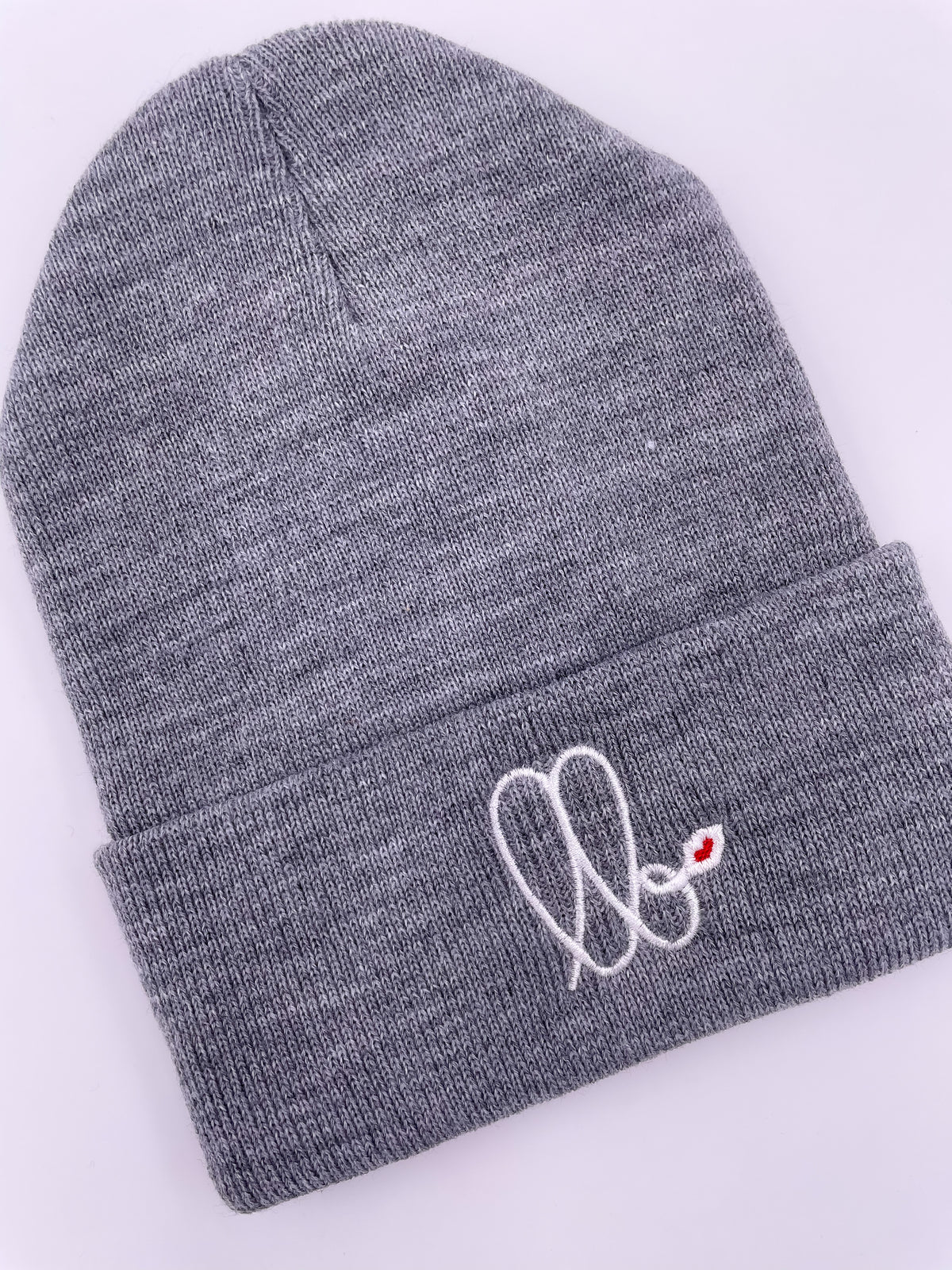 LB Beanie (Light Grey)