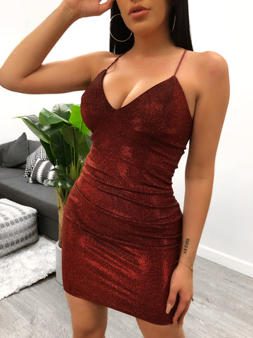Adelyn Velvet Dress