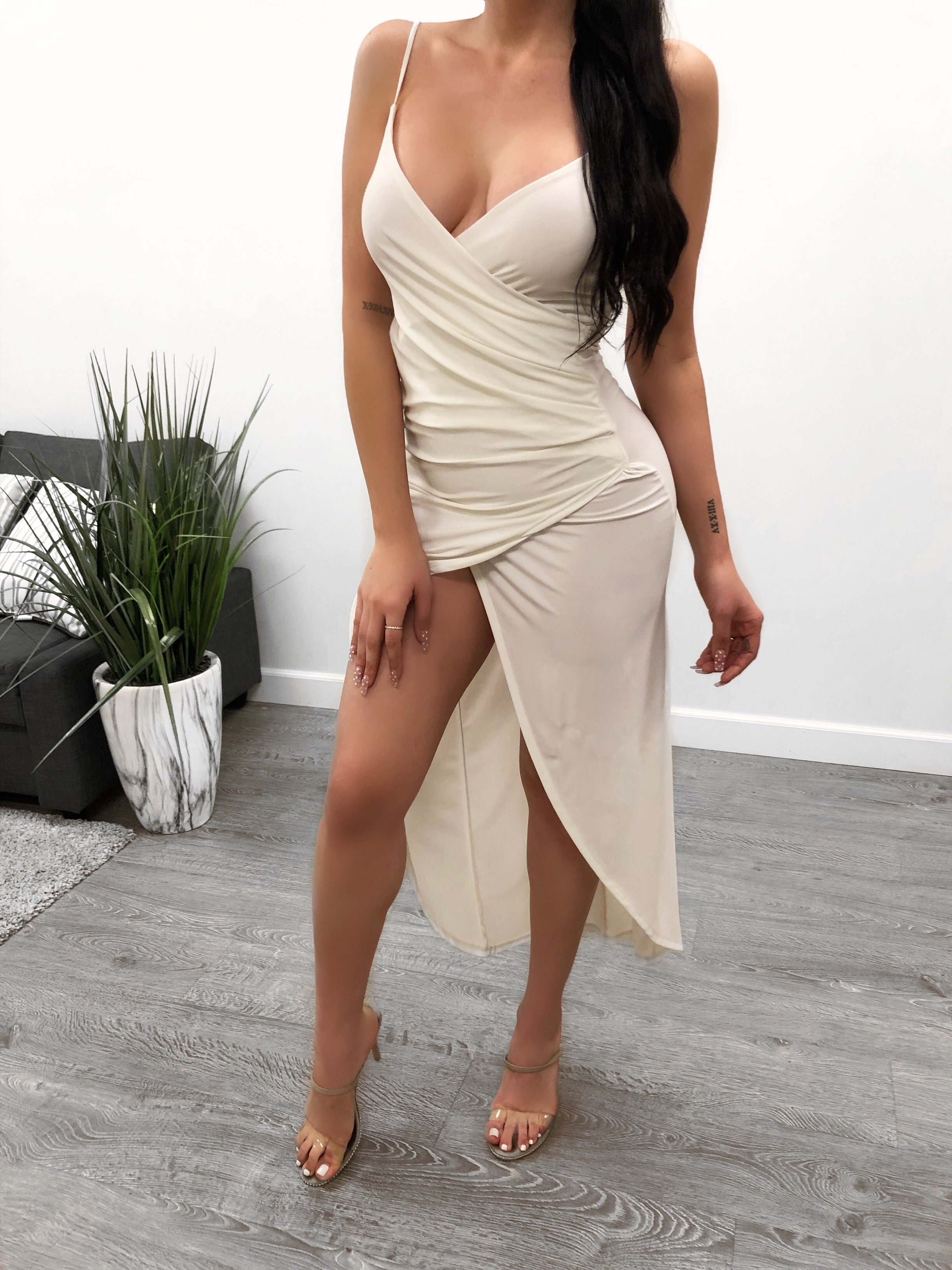Mandy Night Out Dress (white)