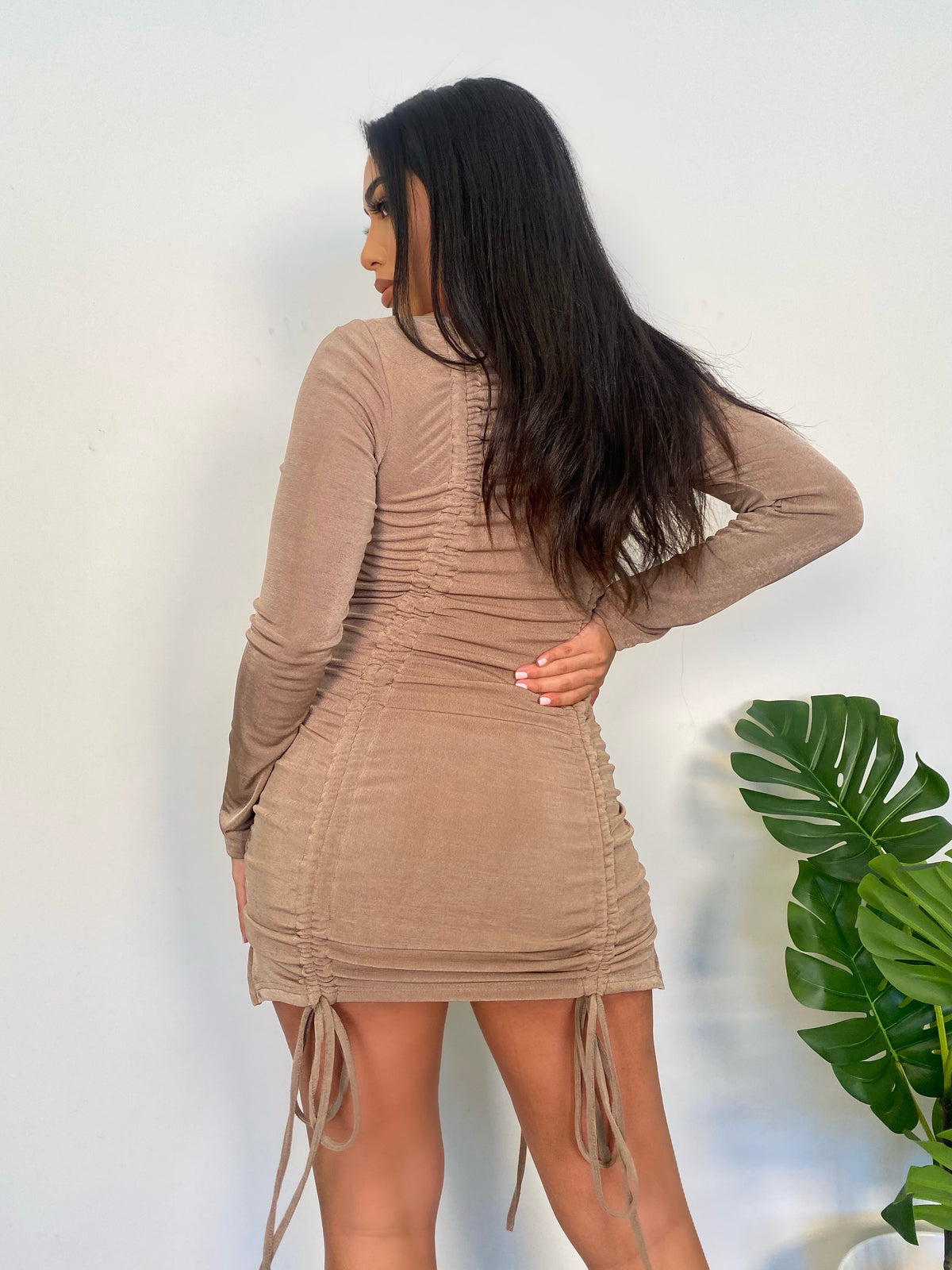 Stassie Dress (Mocha)