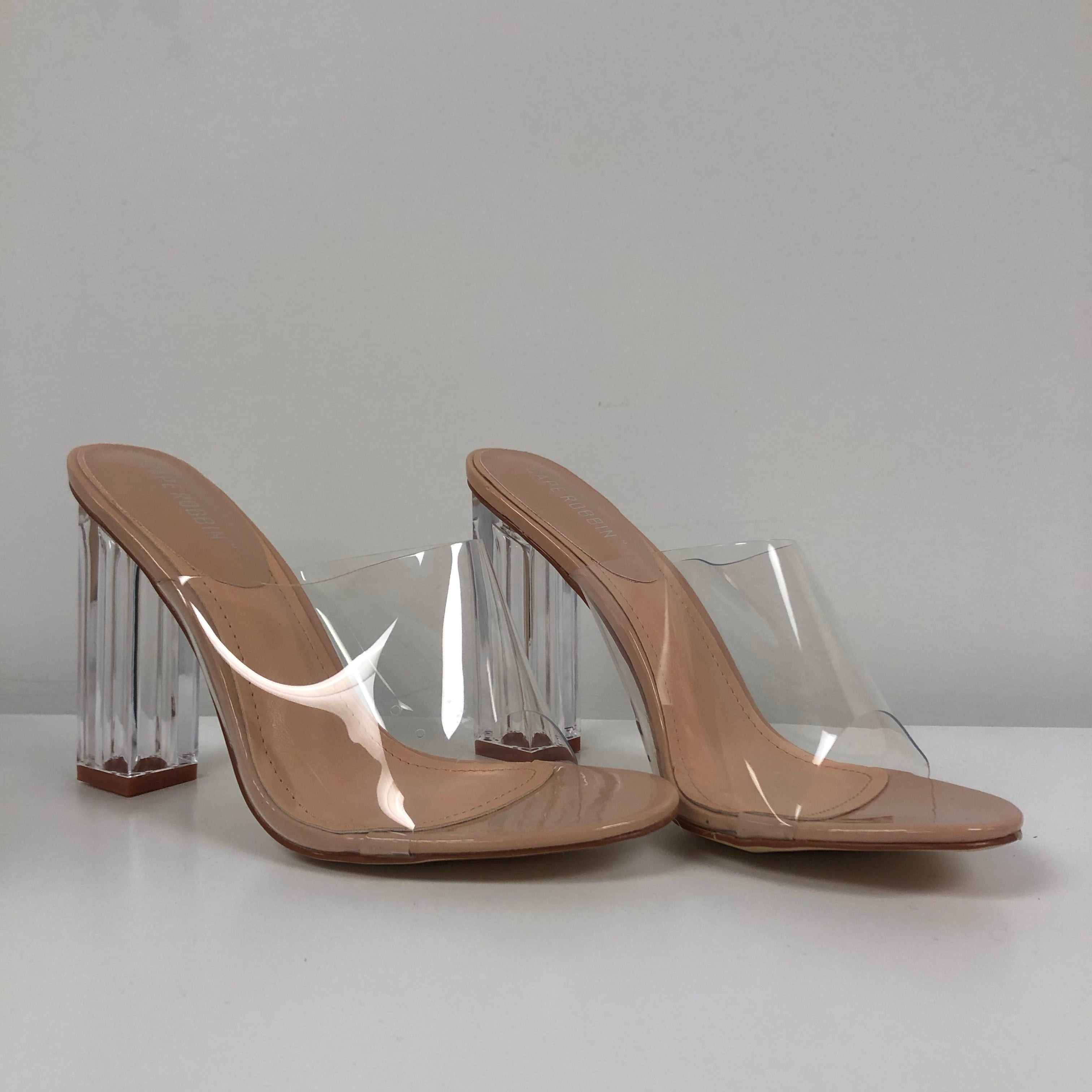 Marylou Clear Heel