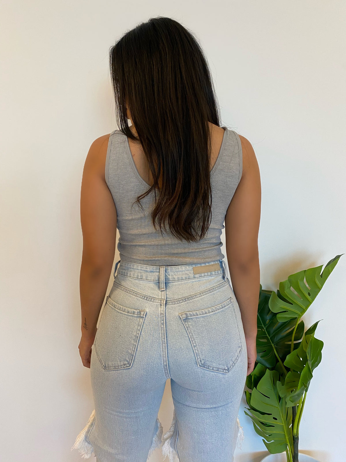 Millie Tank Top (Grey)