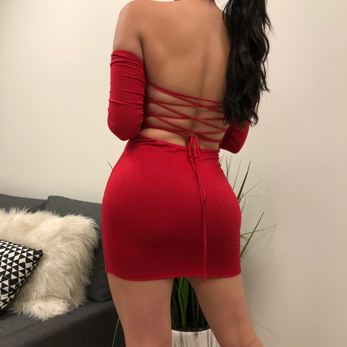 Sierra Dress (red)