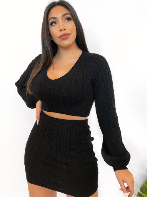 Brenley 2 Piece (Black)