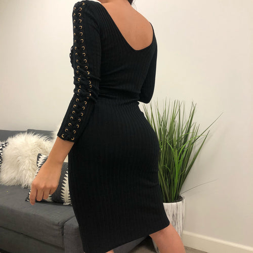Brielle Dress (black)