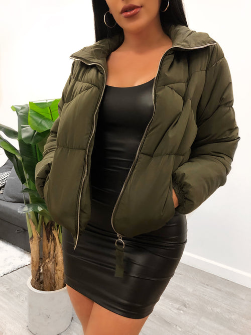 Berry Jacket (Olive)