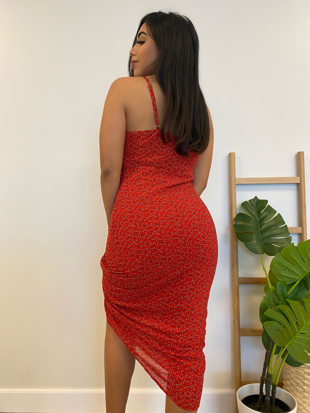 Jayla Dress (Red)